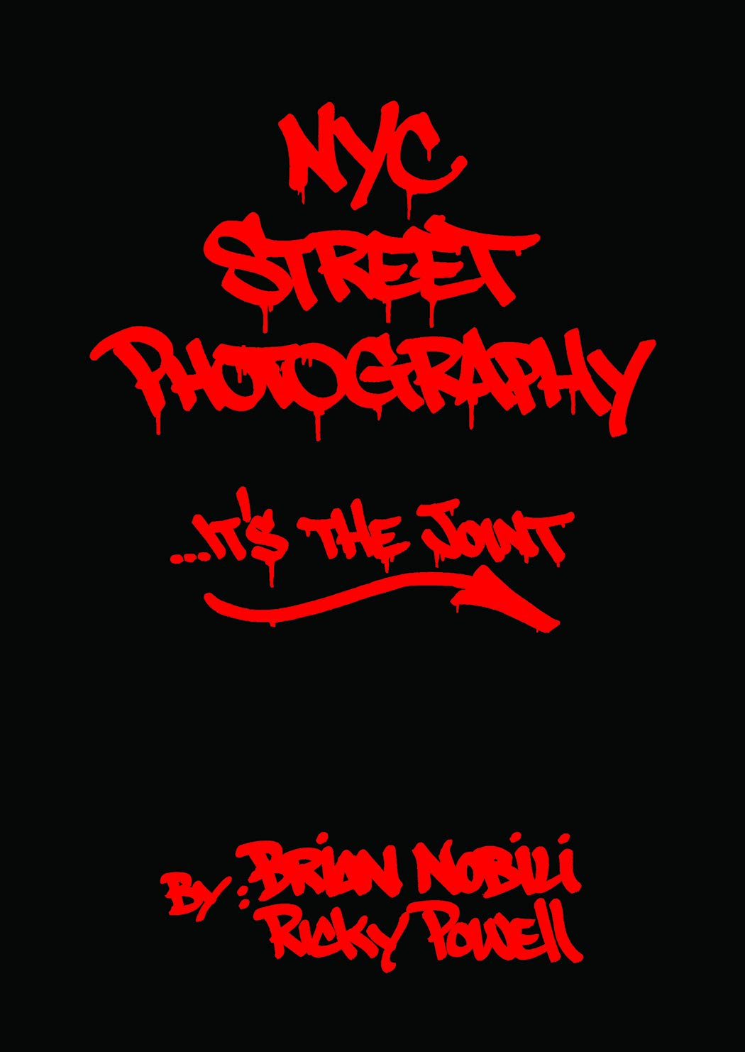front cover of the book NYC Street Photography